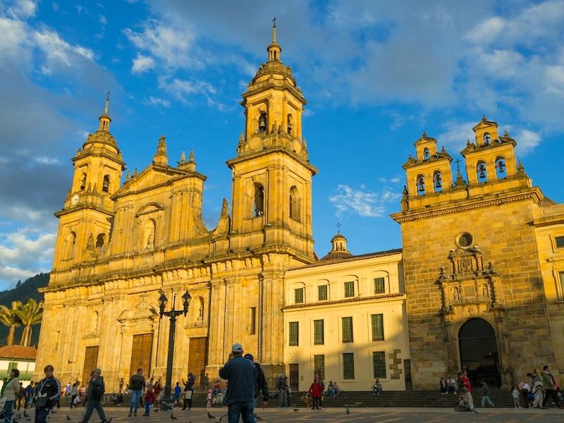 Kolumbien Urlaub Kolonial Stadt