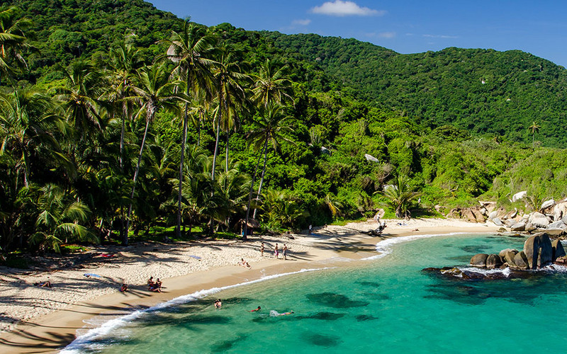 Kolumbien Tayrona Nationalpark » Wildes Naturparadies